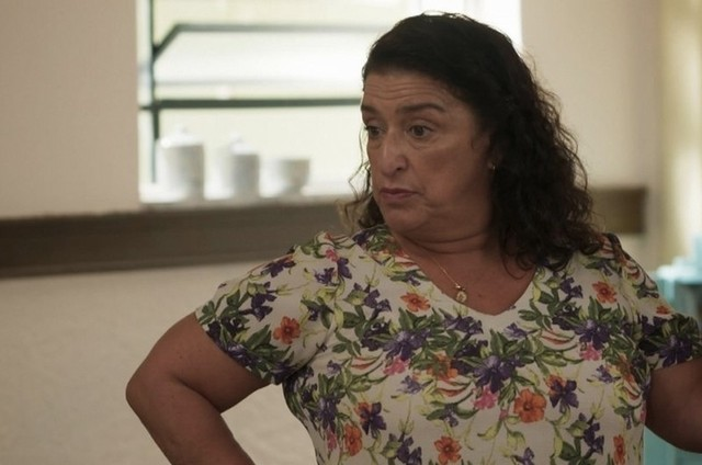 Grace Gianoukas, a Ermelinda de 'Salve-se quem puder' (Foto: Globo)