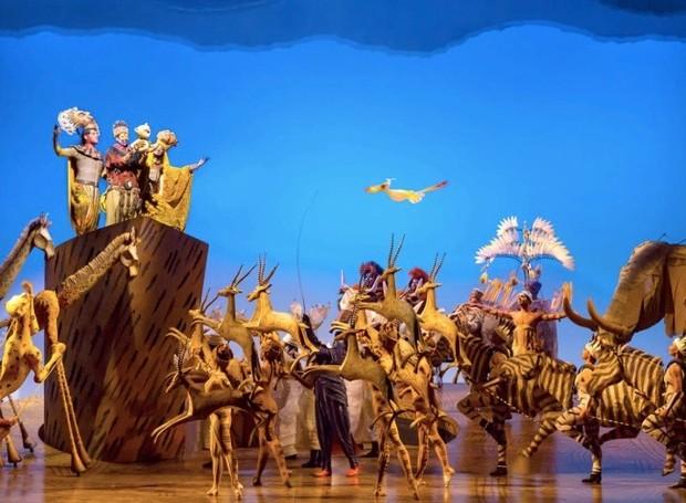 O Rei Leão, na Broadway (Foto: Divulgação)
