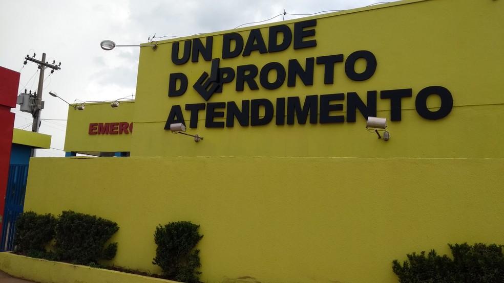 -  Idoso foi encaminhado a uma unidade de pronto atendimento, na Zona Leste da capital  Foto: Toni Francis/G1