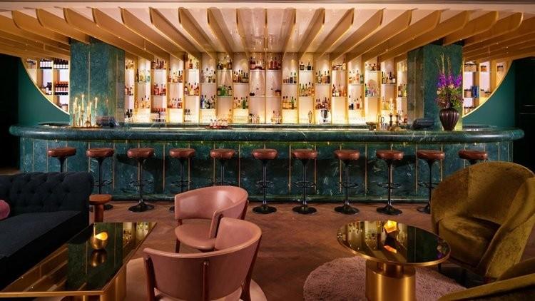 Dandelyan, bar do luxuoso hotel Mondrian London (Foto: divulgação)