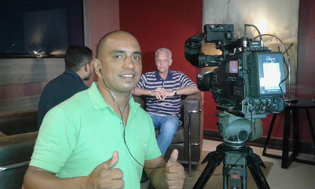 Cinegrafista Clebson Ribeiro desapareceu no rio Madeira na última sexta-feira (6).  — Foto: Arquivo pessoal