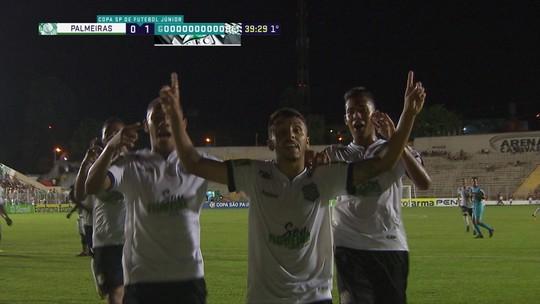 """Algoz de Fla e Palmeiras tem Gabriel Jesus como espelho e diz: """"Maior patrocínio não ganha jogo"""""""