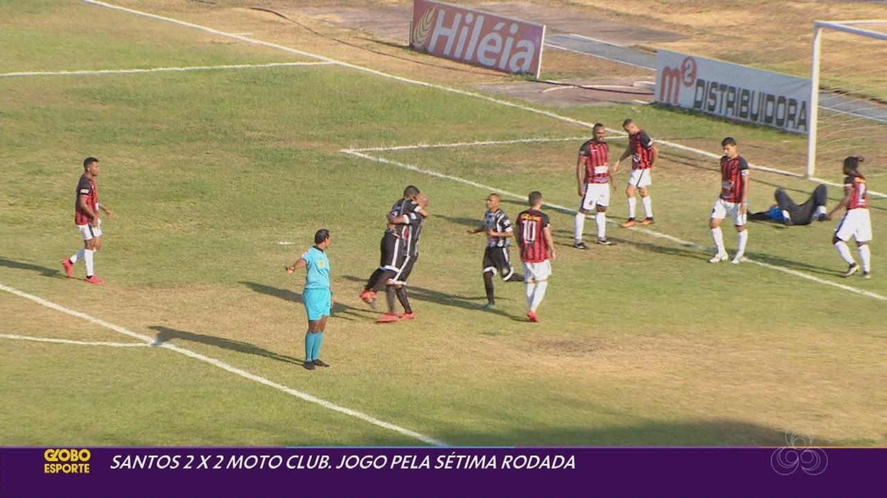 Veja os gols de Santos-AP 2x2 Moto Club-MA pelo Grupo 2 da Série D