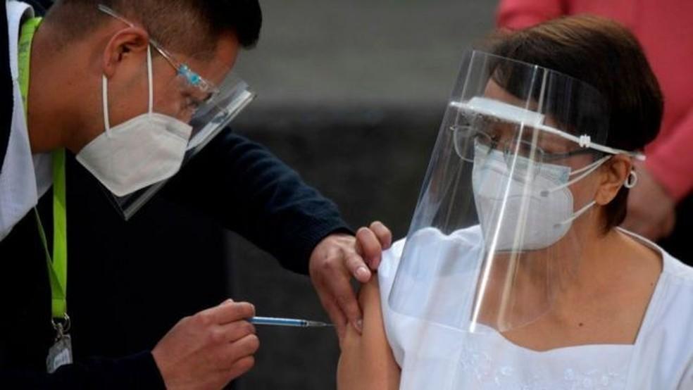 México, Chile e Costa Rica já estão aplicando a vacina contra covid-19 na América Latina — Foto: Getty Images via BBC