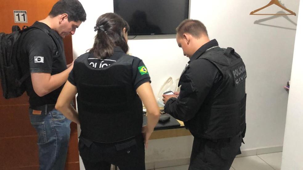 Polícia Civil de Assis faz operação de combate à pedofilia e estupro de vulnerável — Foto: Polícia Civil/Divulgação