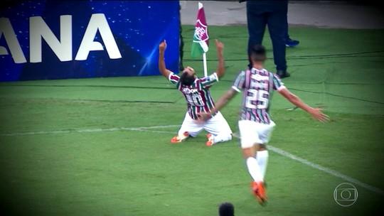 Gol olímpico de Sornoza, pelo Fluminense, é escolhido o mais bonito da Sul-Americana 2018
