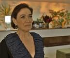 Após conversar com Luz a sós na sua casa, Valentina mandará Sampaio (Marcello Novaes) esconder um colar de brilhantes no quarto da moça e chamará a polícia, fazendo com ela seja presa | TV Globo