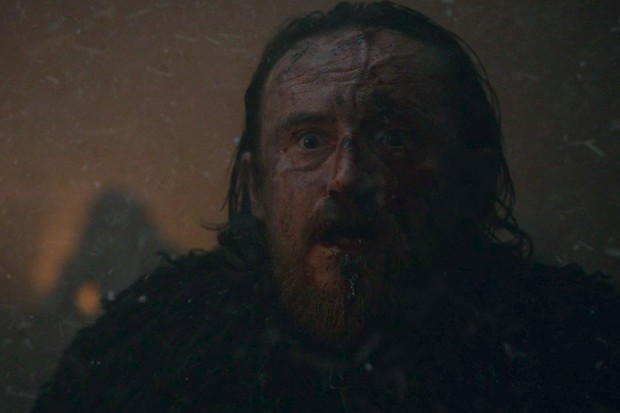 Edd Doloroso n'A Batalha de Winterfelll (Foto: reprodução)