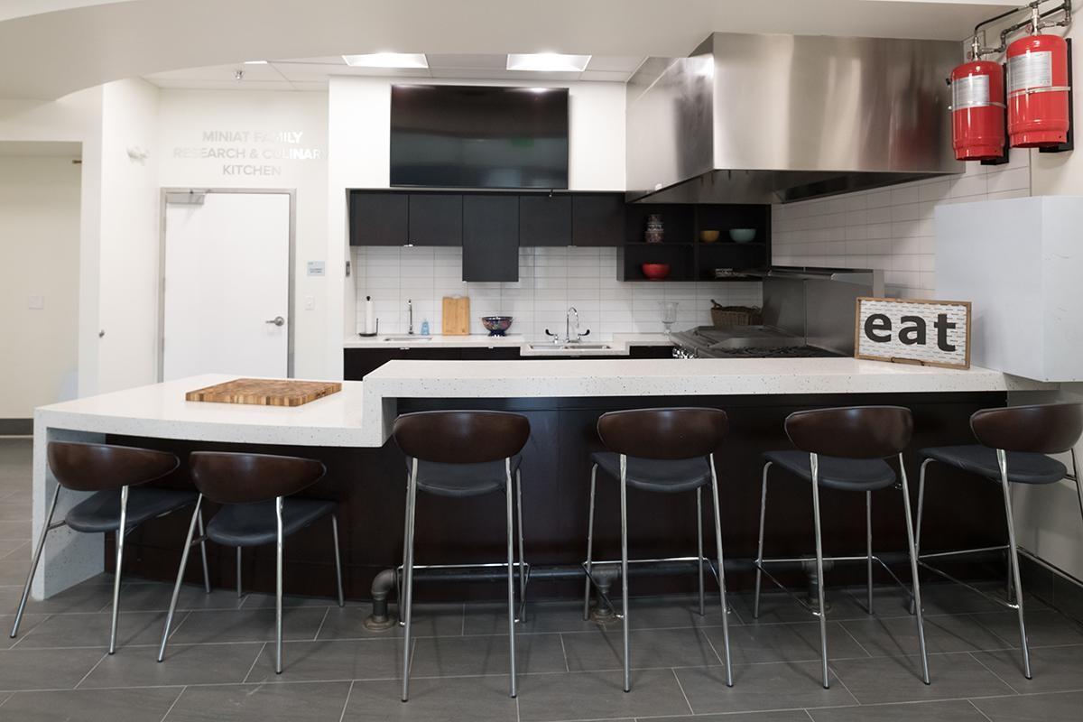 Centro tem uma cozinha que permite experimentos de sabor e textura dos alimentos - Centro Global de Inovação de Alimentos  (Foto: Divulgação)