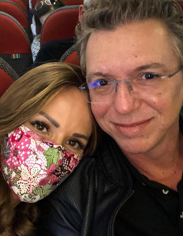 Ana Furtado e Boninho (Foto: Reprodução/Instagram)