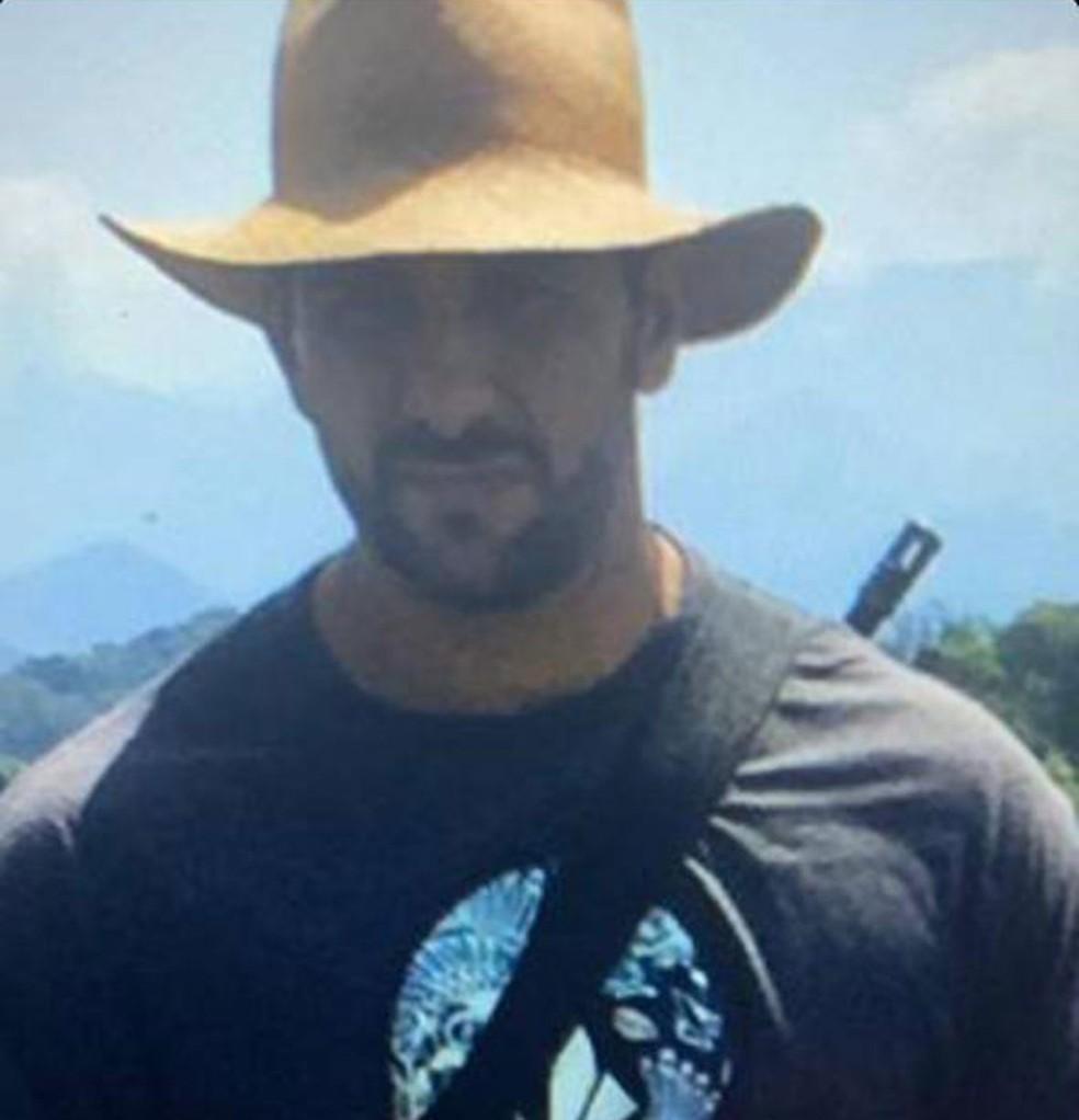 Miliciano e ex-capitão do Bope Adriano foi morto em operação da polícia na Bahia — Foto: Reprodução