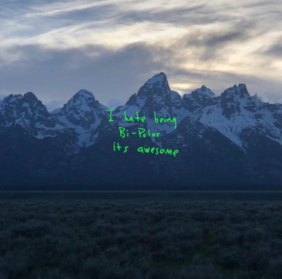 Capa do álbum 'Ye', de Kanye West (Foto: Divulgação)