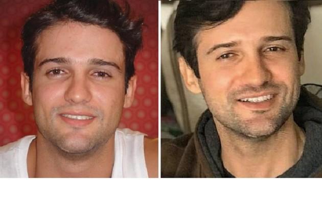 """Fernando Luiz, também do """"BBB"""" 7, tinha 23 anos e era bancário na época. Lá conheceu Flávia, com quem namorou. Agora, aos 37, ele é gestor de compras e tem gêmeos (Foto: Reprodução)"""