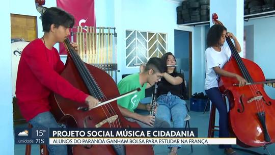 Alunos do Paranoá ganham bolsa em escola de música da França