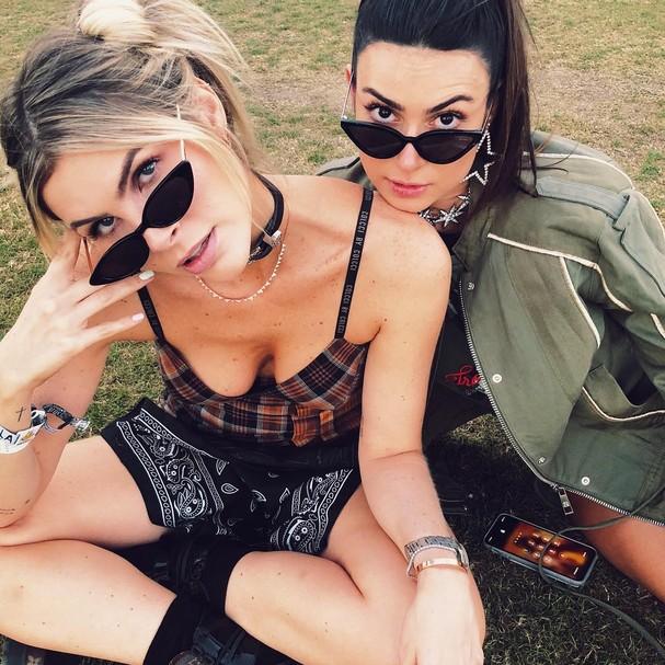 Julia Faria e Thaila Ayala curtem Coachella (Foto: Reprodução / Instagram)