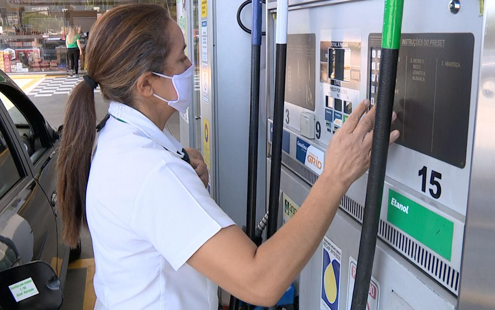 Preço da gasolina recua 1,7% na semana em Porto Velho