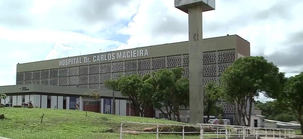 Caso aconteceu no Hospital Dr. Carlos Macieira em São Luís (MA) — Foto: Reprodução/TV Mirante