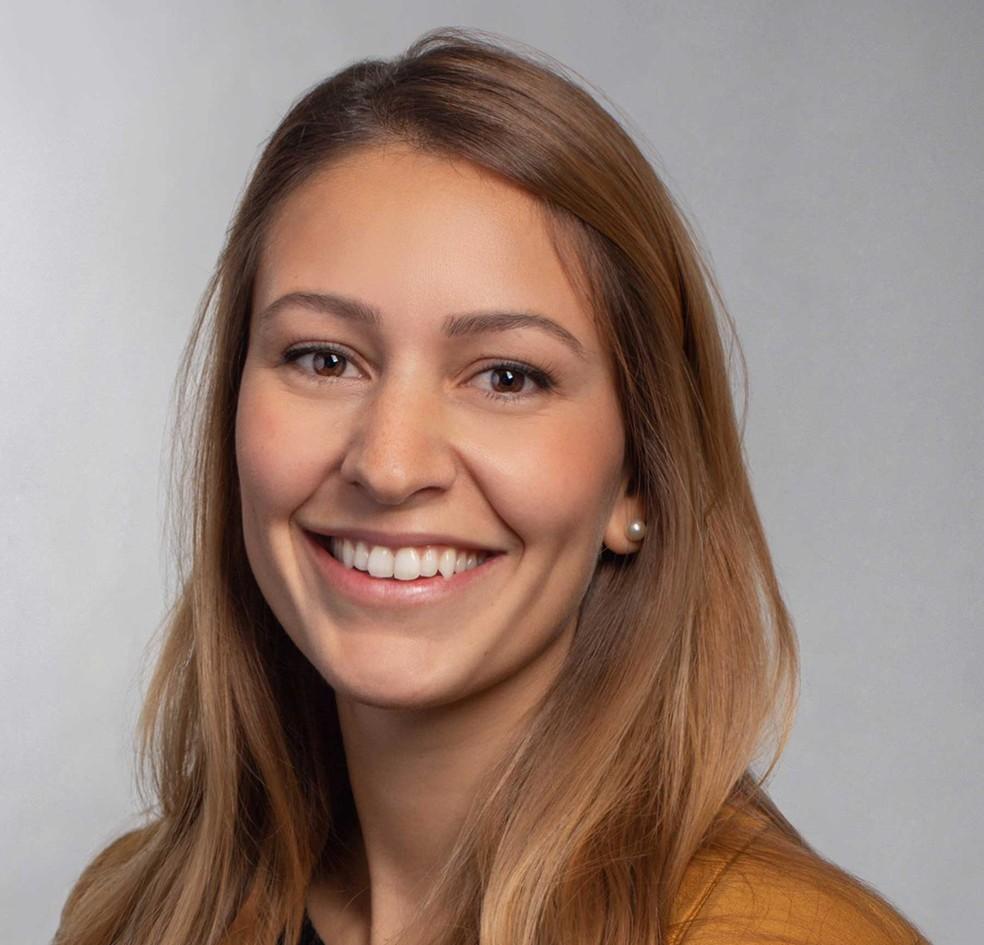 Carolina Lucas, pesquisadora brasileira em Yale — Foto: Divulgação/Yale