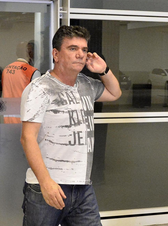 Andrés Sanchez, presidente do Corinthians — Foto: Marcos Ribolli