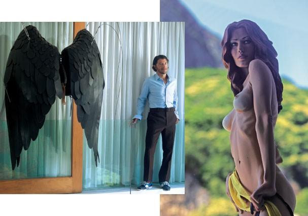 Galeria: As asas, de Isaque Pinheiro, e Boneca, de Gabriel de la Mora (Foto: Vicente De Paulo)