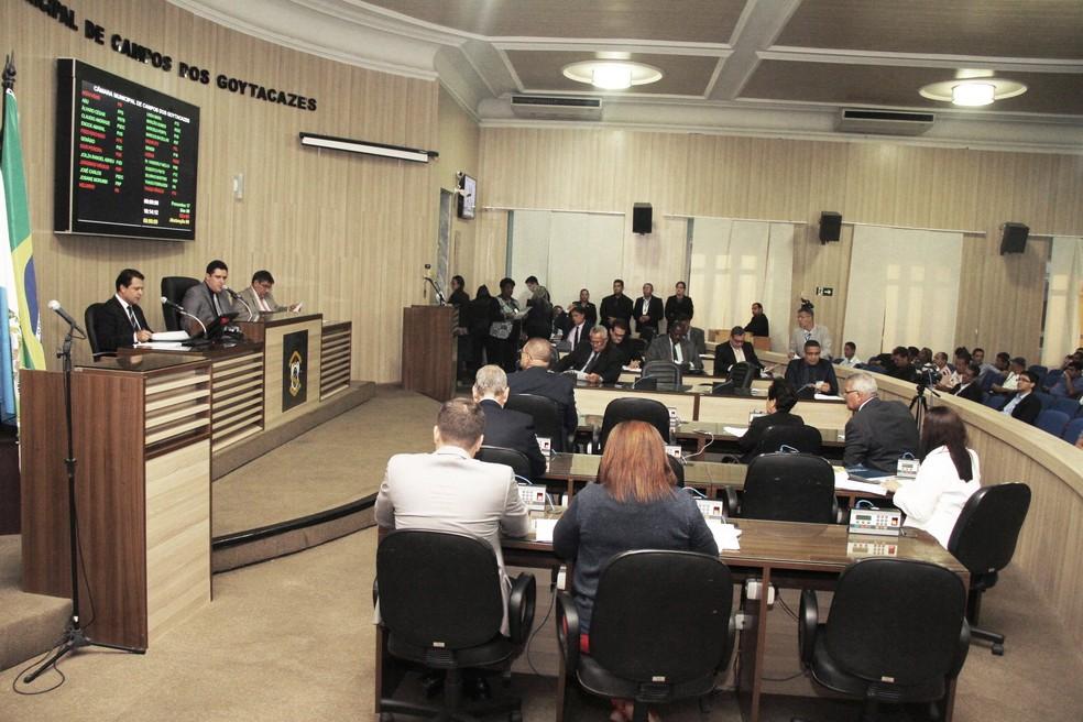 Mudança foi aprovada na sessão desta terça-feira (6) (Foto: Divulgação/Câmara de Vereadores de Campos)