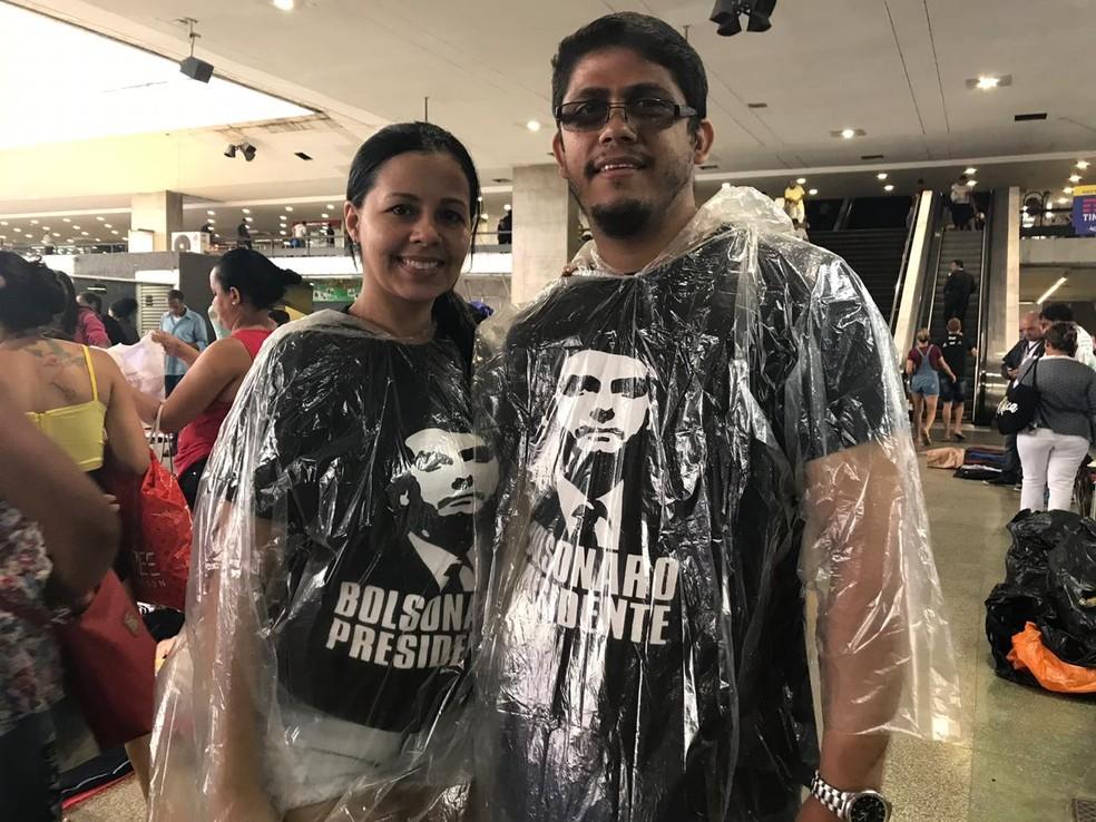 Turistas amazonenses compraram a passagem para Brasília ainda em outubro, logo após o resultado do 2º turno das eleições — Foto: Marília Marques/G1