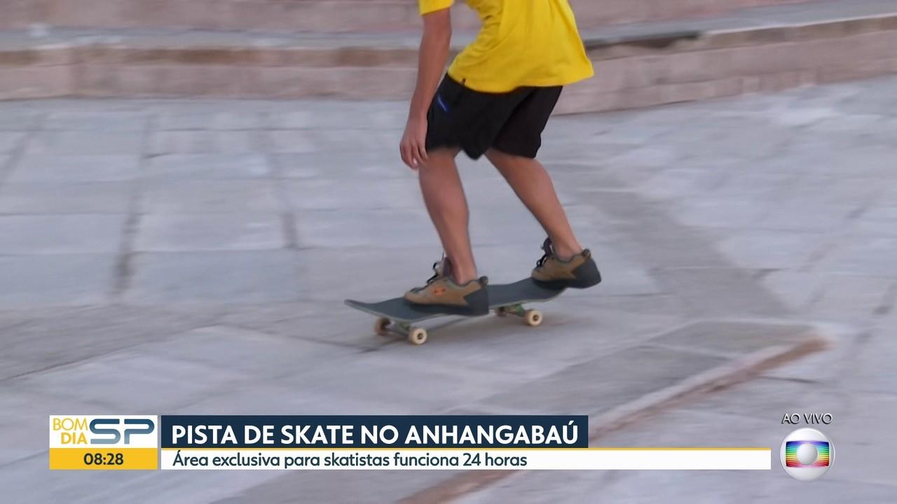 Pista de skate é inaugurada no Centro de SP