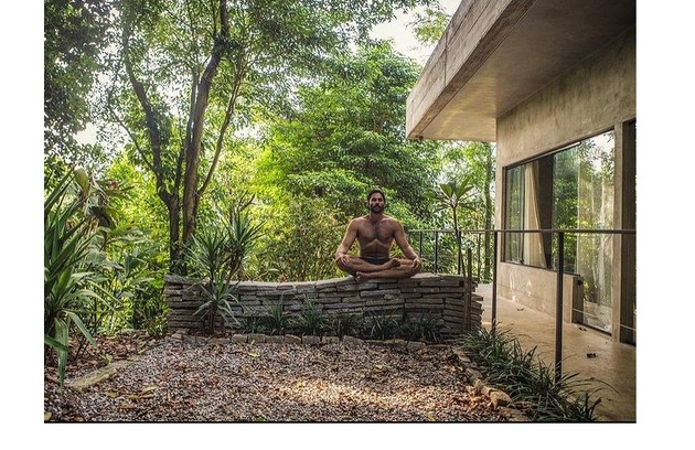 Dudu tem três projetos para cinema em 2021. Enquanto isso, passa o isolamento em contato com a natureza (Foto: Reprodução)
