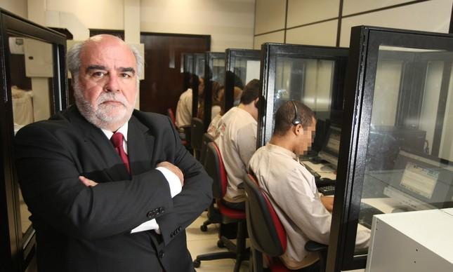 Zeca Borges, coordenador do Disque-Denúncia desde 1995: 'O Rio era muito mais violento'
