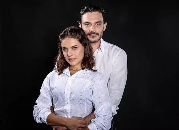 Paloma Bernardi e Kiko Pissolato (Foto: Kelson Spatalo/Divulgação)