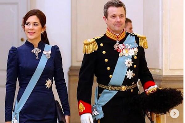 A Princesa Mary e o Príncipe Frederik da Dinamarca (Foto: Instagram)