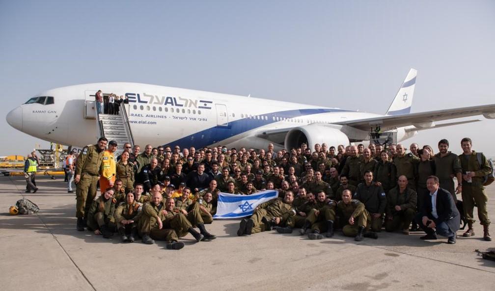 Soldados da Forças de Defesa de Israel — Foto: Reprodução/Twitter/Forças de Defesa de Israel
