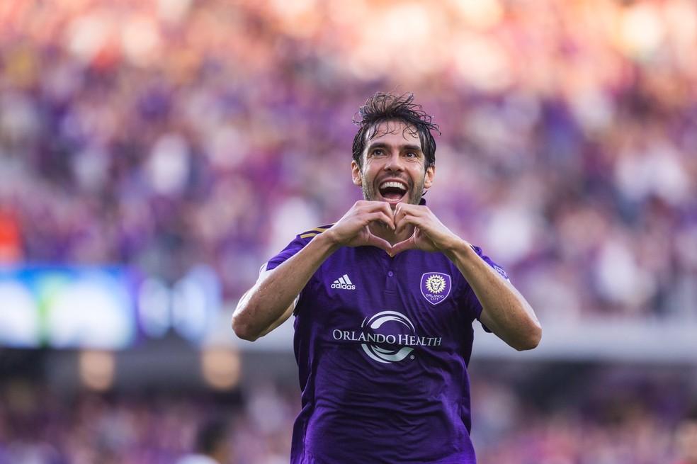 Kaká não vai renovar com o Orlando City para 2018 (Foto: Tiwtter oficial do Orlando City)