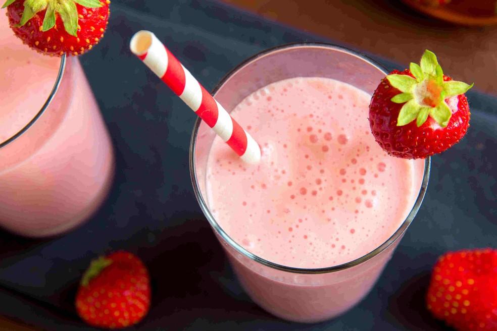 Além da sensação de saciedade, shakes fornecem energia e vitalidade. (Foto: iStock/FarmaConde)