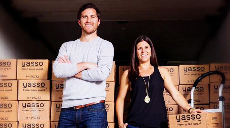 Amanda Klane e Drew Harrington, da Yasso (Foto: Divulgação)
