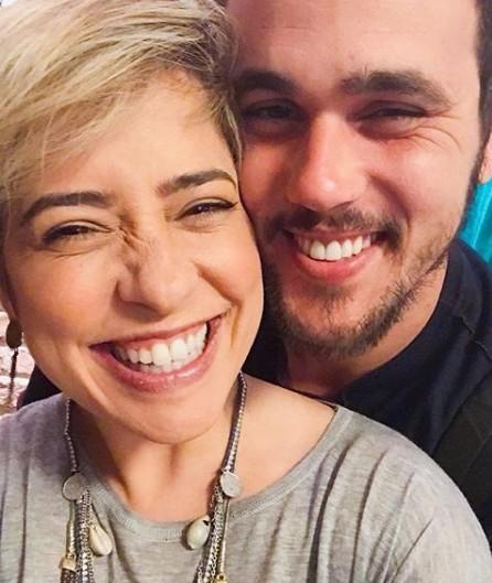 Paloma e Bruno Ferrari (Foto: Reprodução Instagram)