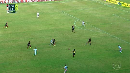 Apesar da derrota contra o Sport, Lima elogia postura do Petrolina no segundo tempo