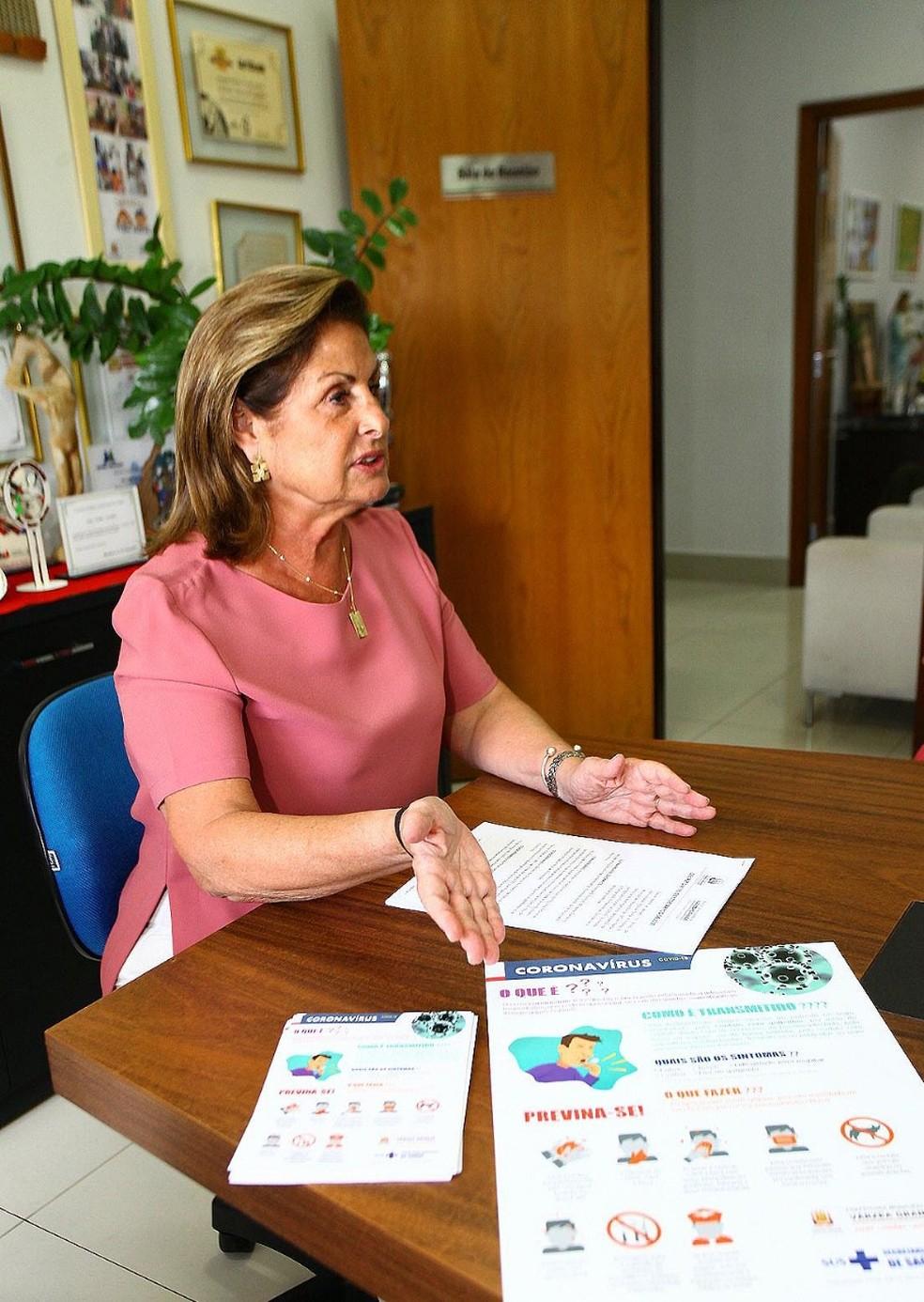 Lucimar Campos, prefeita de Várzea Grande (MT). — Foto: Assessoria