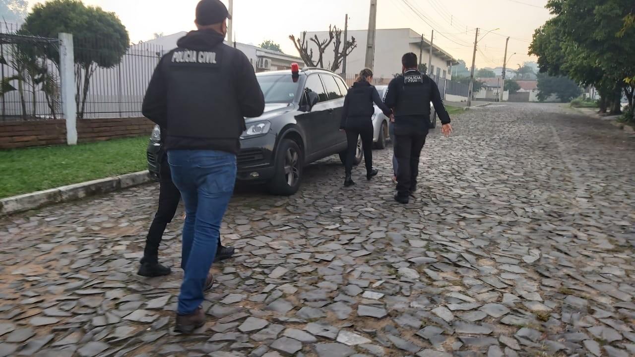 Polícia prende suspeitos em operação contra crime de sequestro no RS e em SC