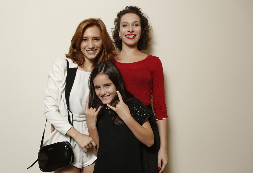 Lorena Comparato, Júlia Marini e Lara Cariello (Foto: Felipe Monteiro / Gshow)
