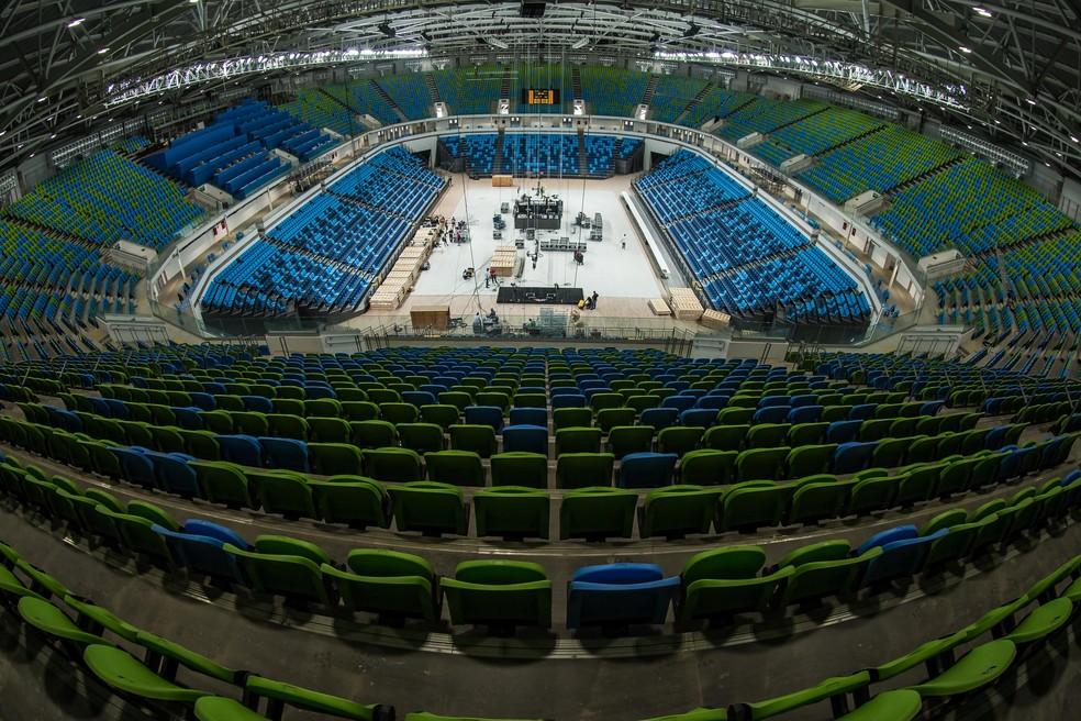 Arena Carioca 1 no Parque Olímpico Rio 2016 (Foto: Renato Sette Camara/Prefeitura do Rio)