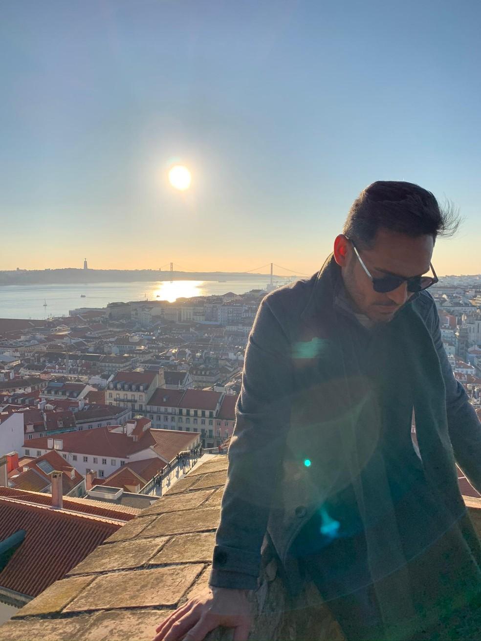 Cantor vive em Portugal há 8 anos. — Foto: Arquivo pessoal/Soll