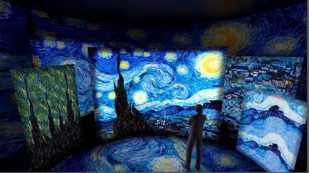 Exposição imersiva inédita de Van Gogh inaugura no Pátio Higienópolis  (Foto: Divulgação)