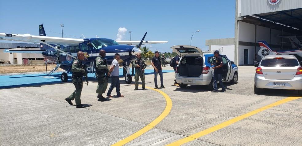 Michel da Silva Nascimento foi preso em São Paulo, informou a SSP-BA — Foto: Divulgação/SSP-BA