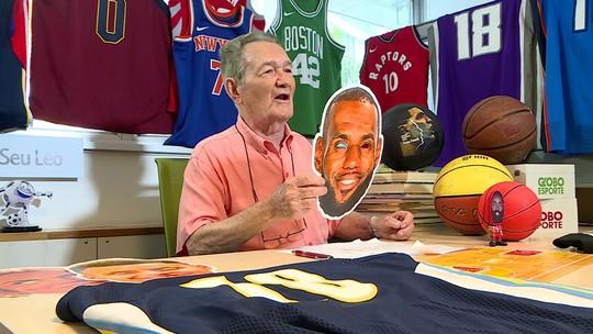 Canal do Seu Léo comenta volta da temporada da NBA