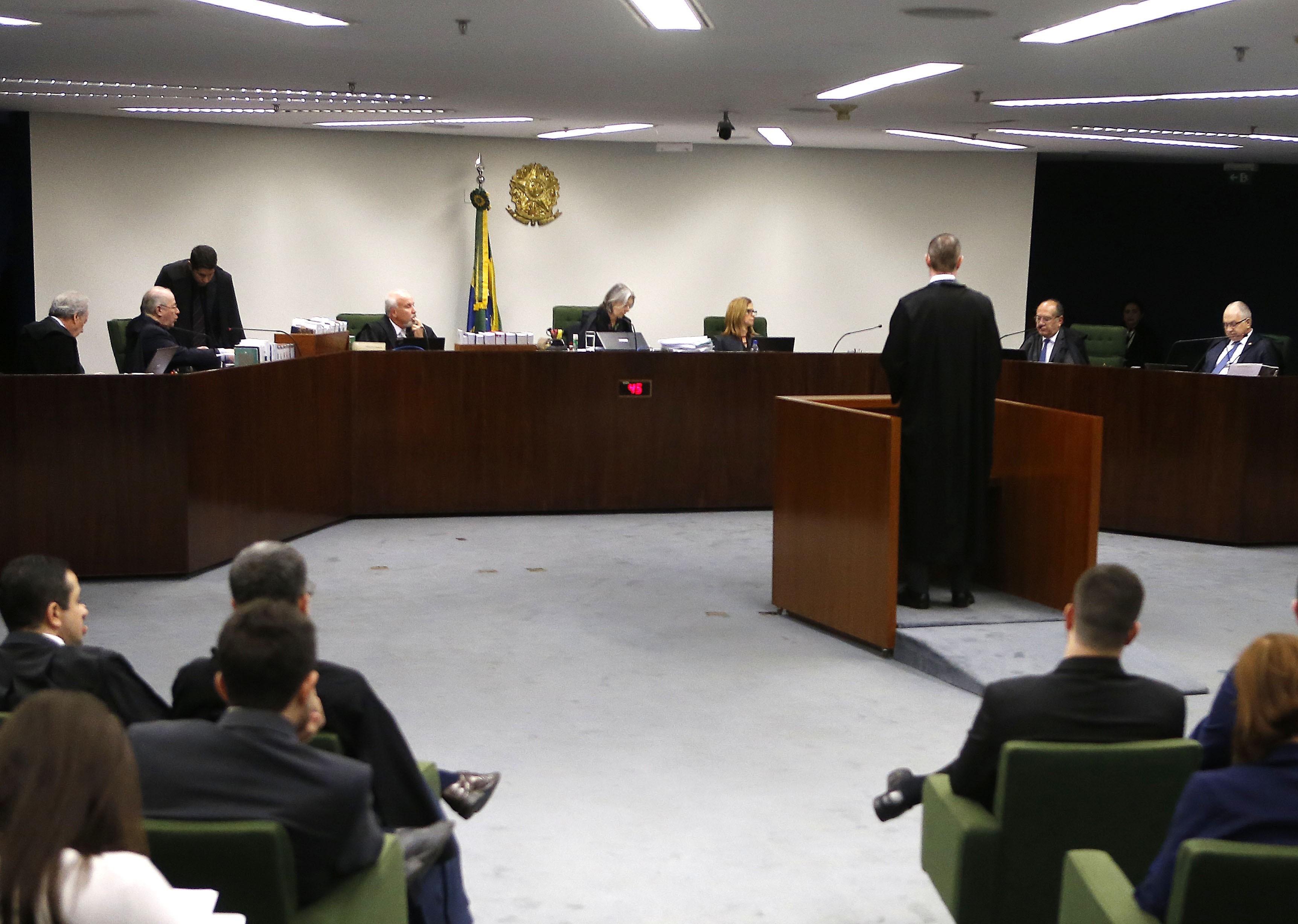 O plenário da Segunda Turma do Supremo Tribunal Federal (STF)