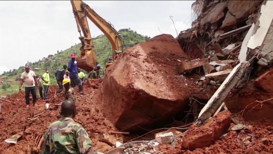 Serra Leoa pede ajuda após deslizamento que matou centenas