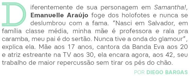 Emanuelle Araújo Abre (Foto:  )