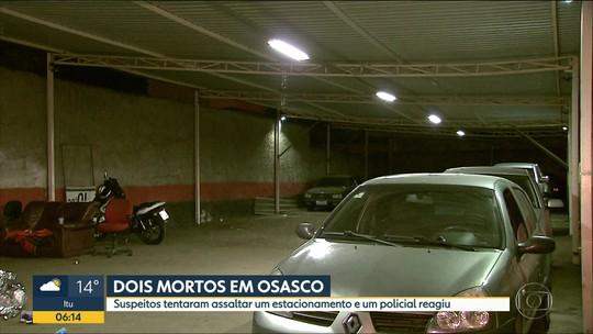 Dois suspeitos morrem durante tentativa de assalto em Osasco
