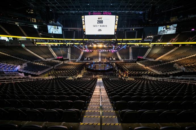 UFC 200, T-Mobile Arena, MMA (Foto: Reprodução/Twitter)
